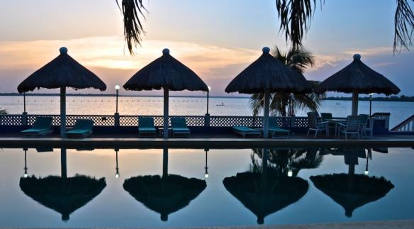 Hotel Le Lac at Lake Togo