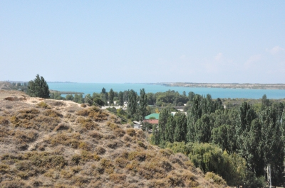 Mikhailovka inlet of Issyk Kul Lake