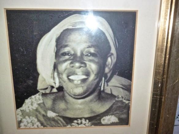 My grandmother, generous, sociable and kind, Mama Gabi