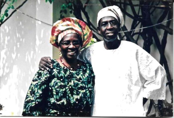 Olatoun's parents - Dr. (Mrs). Abisola Williams and Dr. Gabi Williams