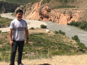 Farhod in Kyrgyzstan