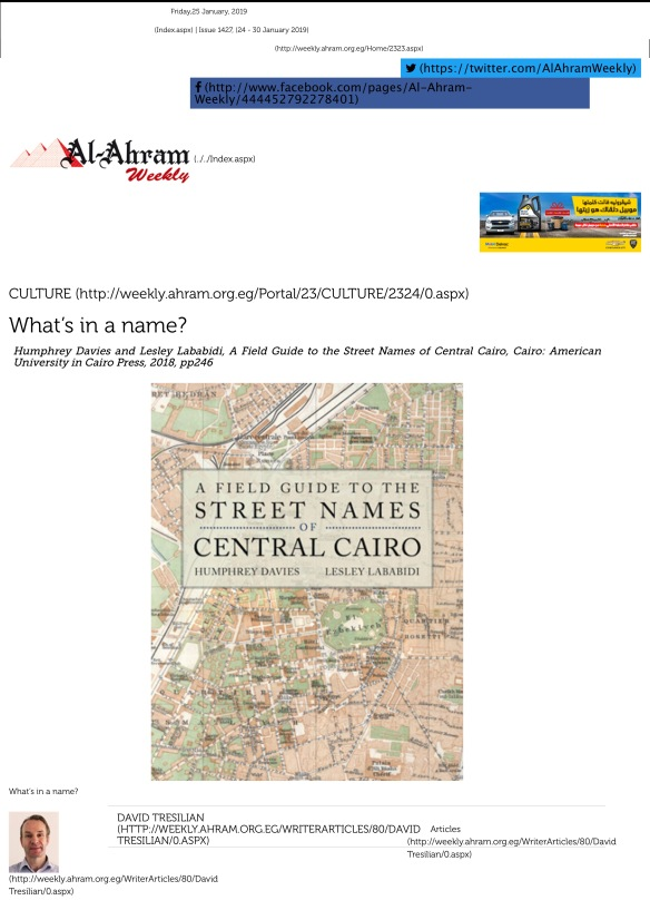 What's in a name? - Al Ahram Weekly-001